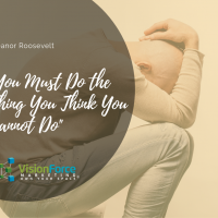 You Must Do the Thing You Think You Cannot Do