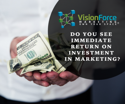 Do You See Immediate Return on Investment on Marketing?