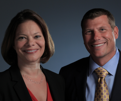 Vision Force Marketing provides strategic marketing plans driving growth for local business community Sean and Leah