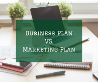 Whats the difference between a business plan and a marketing plan