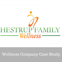 wellness rebranding case study