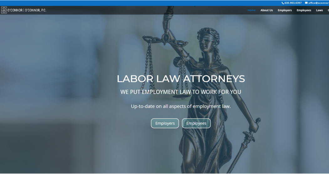 O'Connor Website Design