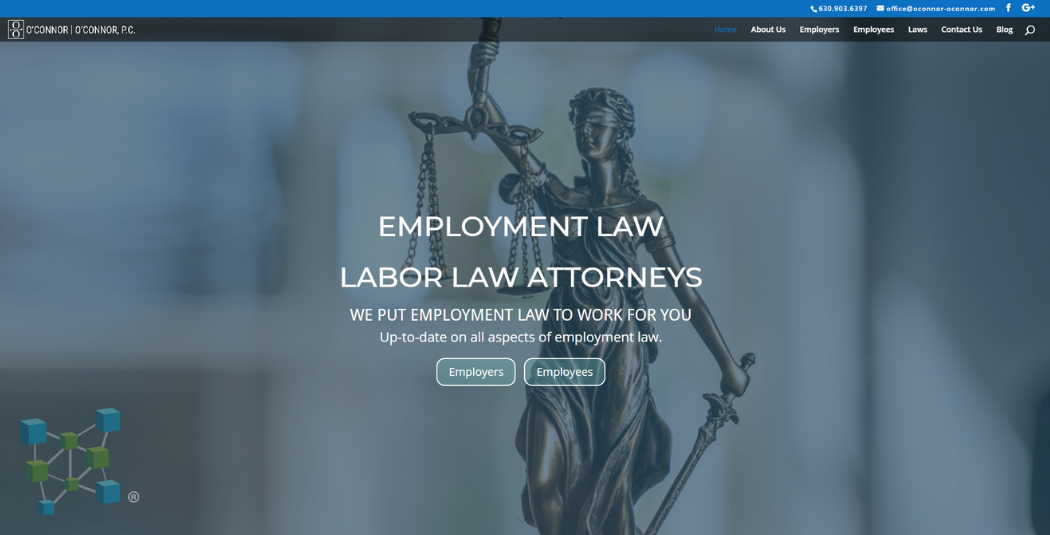 Attorney|Law Firm Website Example