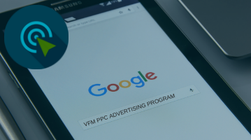 VFM PPC Advertising Intelligence banner for website home page