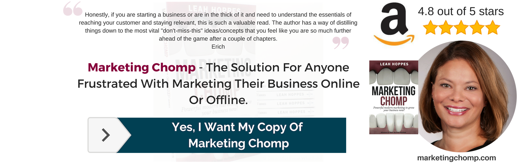 Buy Marketing Chomp Leah Hoppes
