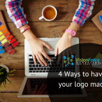 4 Ways to have your logo made….