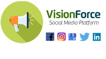 Complete VFM Social Media Platform banner for website home page
