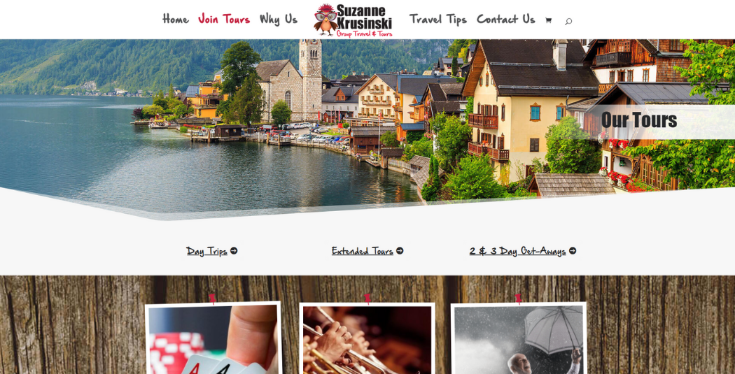 Suzanne Krusinski Group Travel & Tours