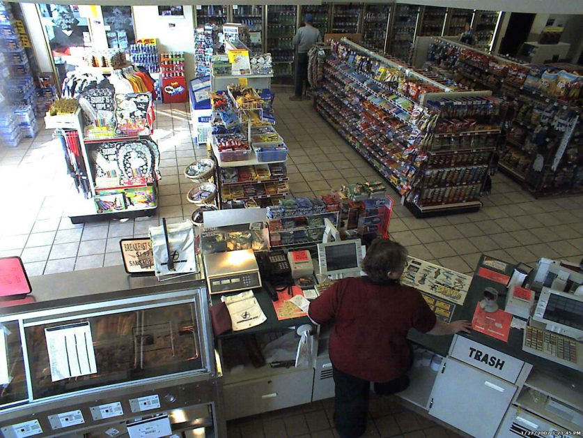 retail security camera surveillance system
