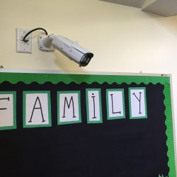 school security camera installation