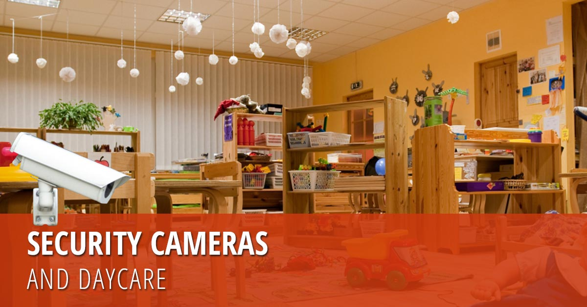 daycare center security camera installation