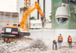 construction site security cameras