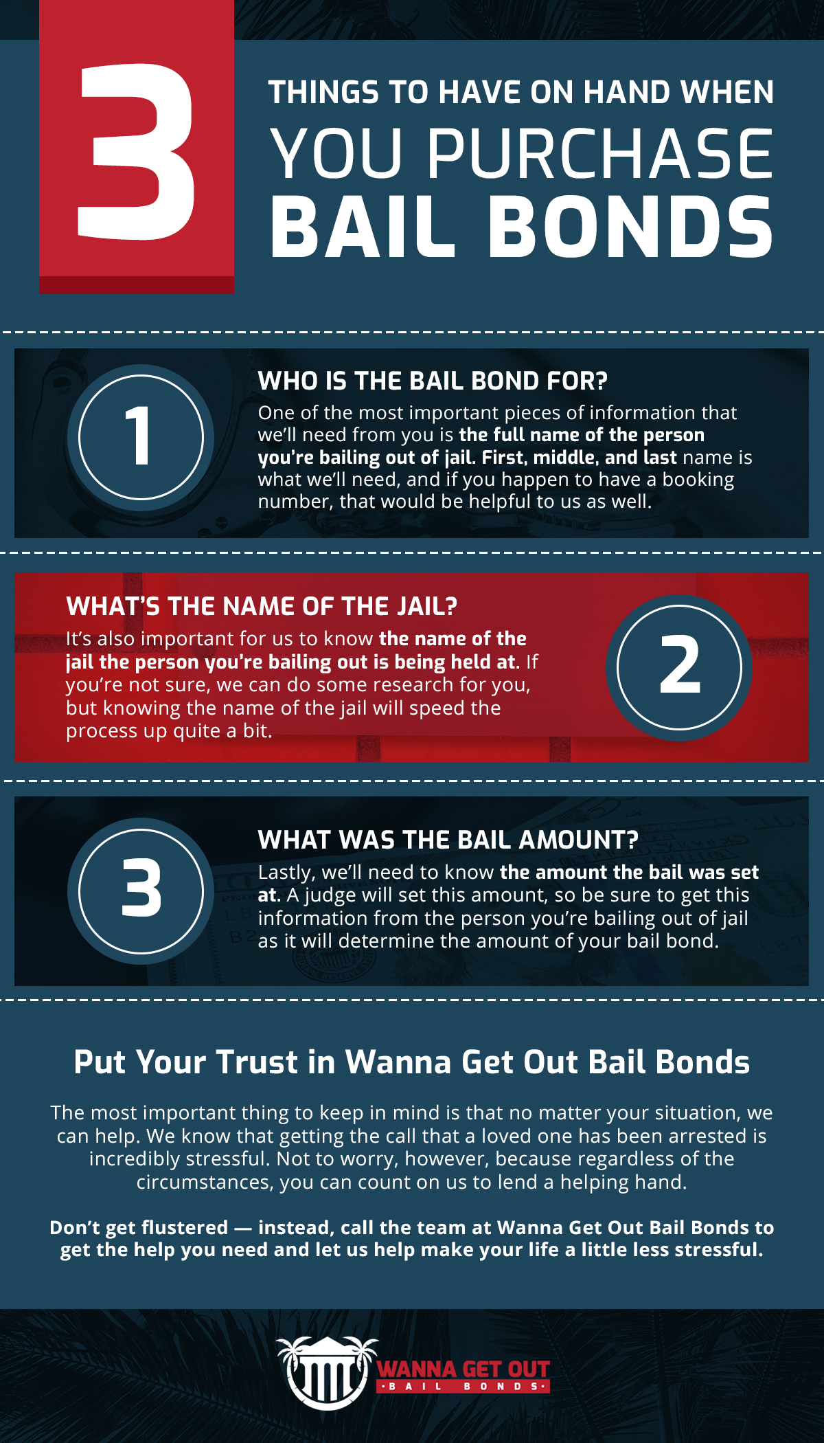 3 Things to Have On Hand When You Purchase Bail Bonds