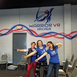 Staff of the VR arcade