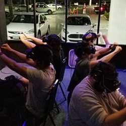 Image of group escape room virtual reality