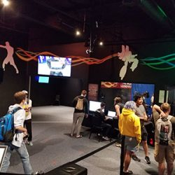 Image of a tour of the Warrior VR arcade