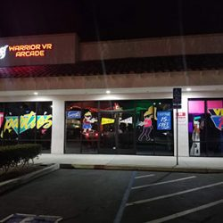 Outside view of the Warrior VR Arcade
