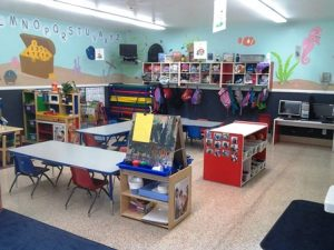 Our Classrooms are designed around learning games for kids!