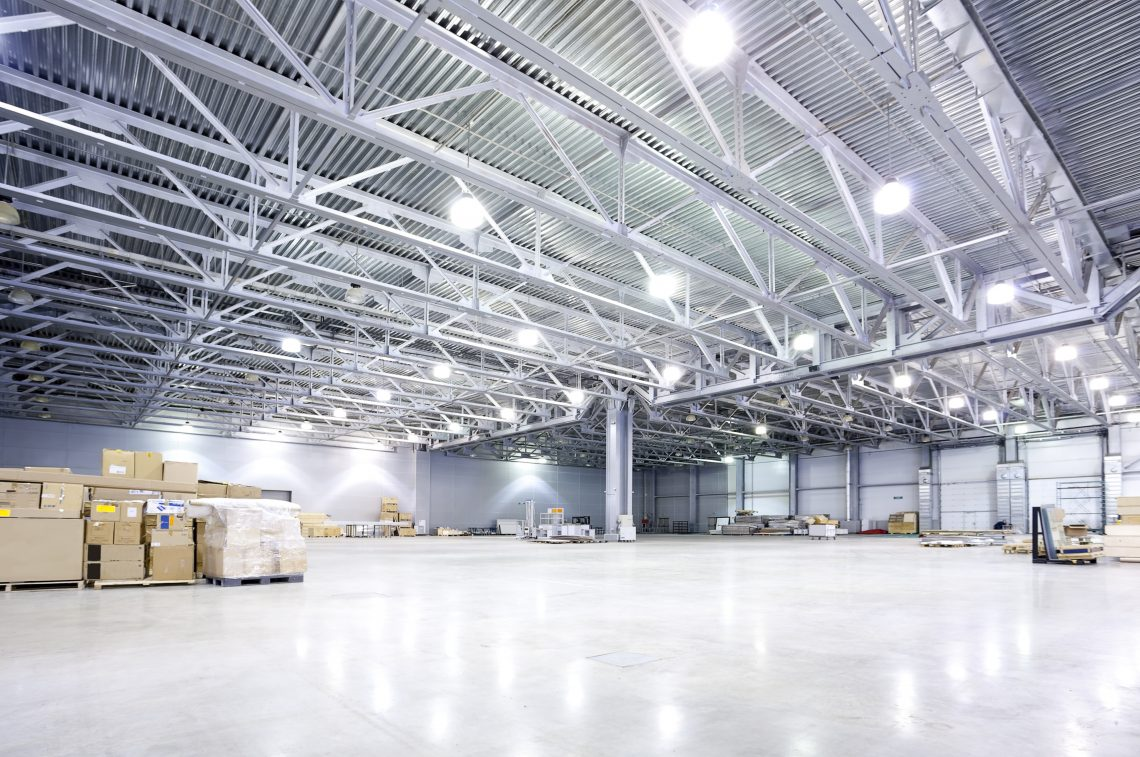 Installing new LED fixtures or retro fitting existing warehouse lighting