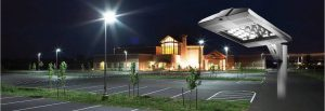 Retro fit your existing parking lot lighting to LED fixtures to save money