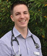 Charlotte veterinarian Tom Linfante of West Ballantyne Animal Hospital.