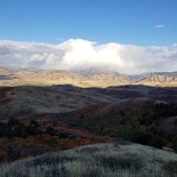 Storm Rolling in on Guided Hunting Ranch