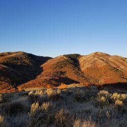 Crisp Fall Sunset at Guaranteed Hunt Ranch