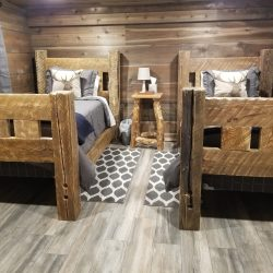 Two Bed Accommodation in Guided Hunting Cabin Stay