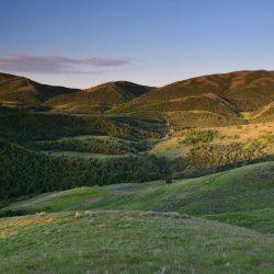 Beautiful Sunset on Ranch Hill Overlook