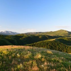 Scenic Sunset View on Utah Hunting Ranch Grounds