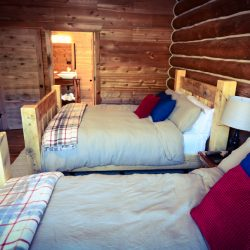 Double Queen Bed Cabin Stay for Two