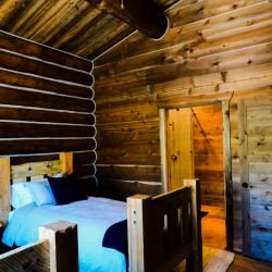 Rustic Log Cabin Hunting Retreat