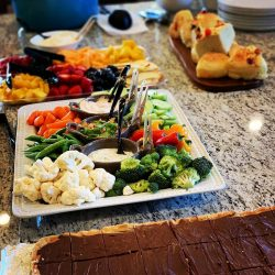 Assorted Appetizer Dishes at Elk Hunting Ranch
