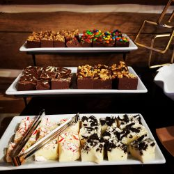 Dessert Assortment at Guided Hunting Ranch