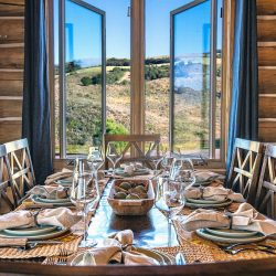 A Set Table At All Inclusive Hunting Ranch in Utah | West Canyon Ranch