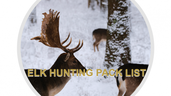 Hunting Pack List | Hunting Gear LIst | Hunter list | West Canyon Ranch