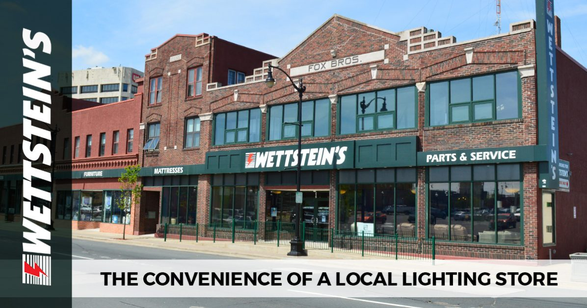 At lighting design by wettsteins in la crosse were proud to be a local lighting shop that can supply our customers with a variety of solutions