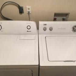 Washer and dryer in Hickory Mills apartment - Kent's Best Apartments