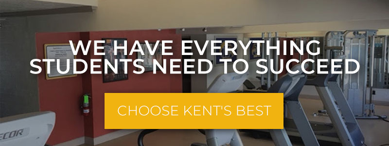 banner advertising Kent's Best Apartments