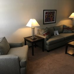 Living room area at Kent's Best Apartments