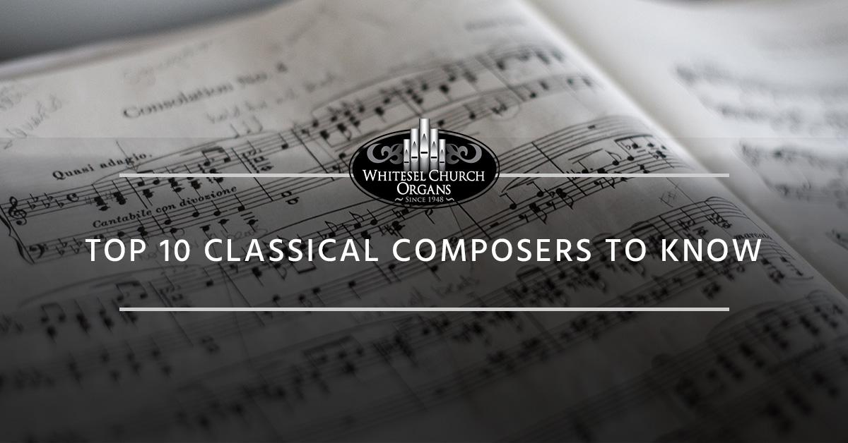 Church Organ Virginia: Top Classical Composers