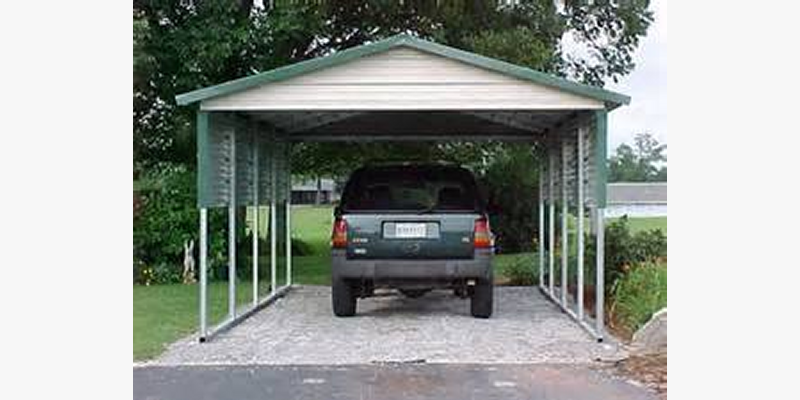 Superb VERTICAL ROOF STYLE CARPORT