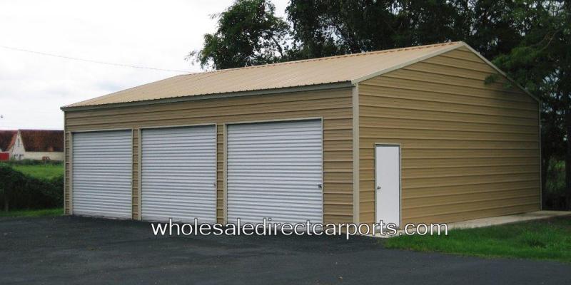 24 vertical style garage