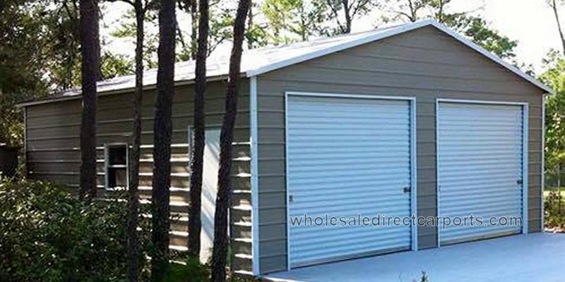 21 vertical style garage