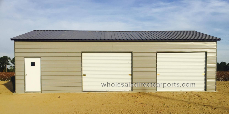 9x8 garage doorEnclosed Metal Garages  For The Perfect Metal Garage Contact Us