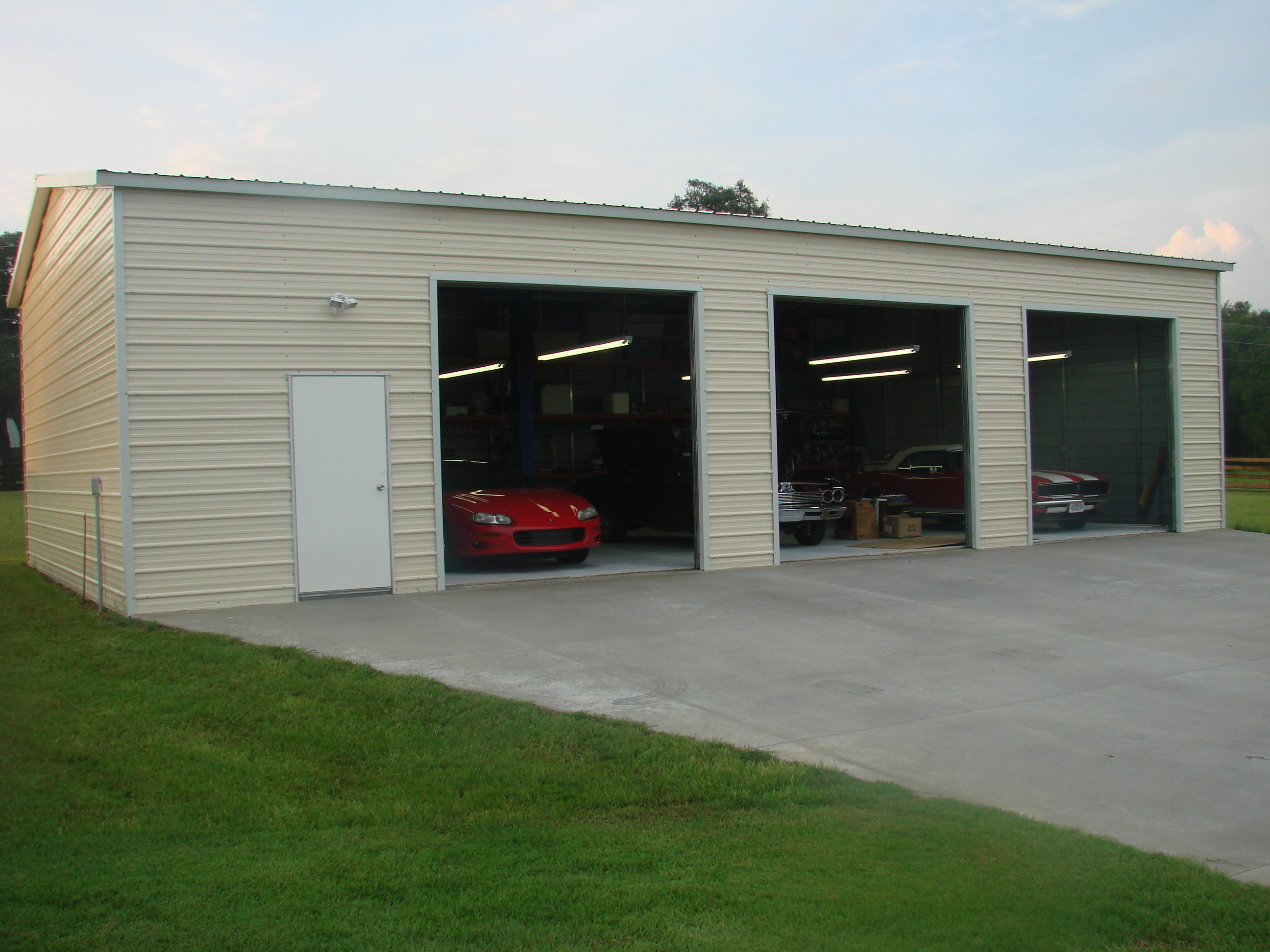 buildings vertical p metal tone choice garage x product