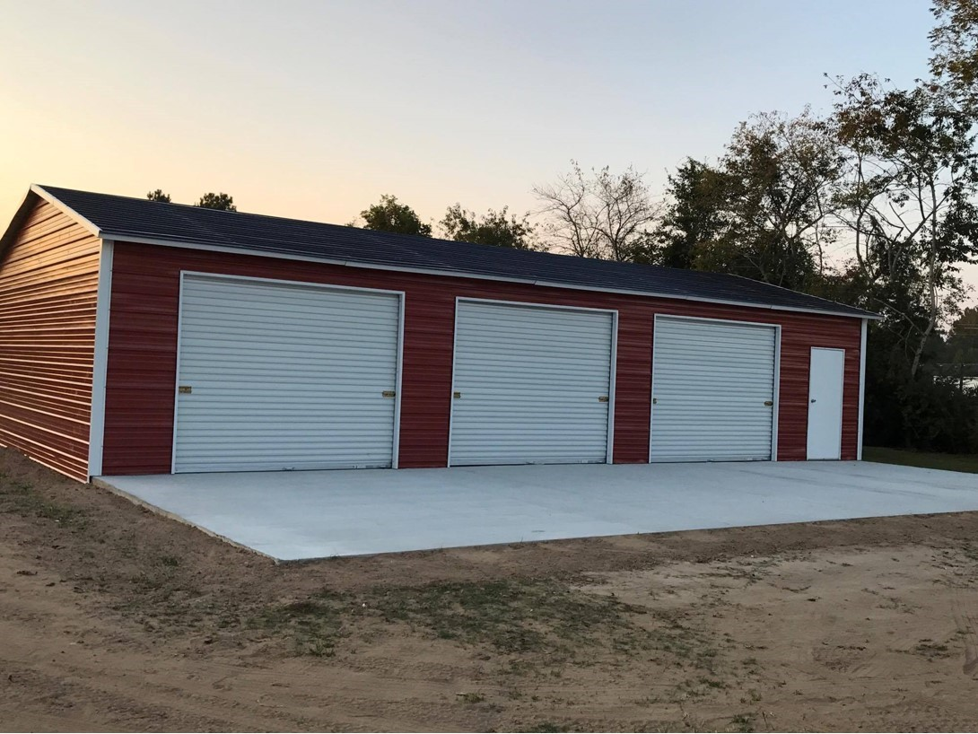 Enclosed Garage Customization Options | Wholesale Direct