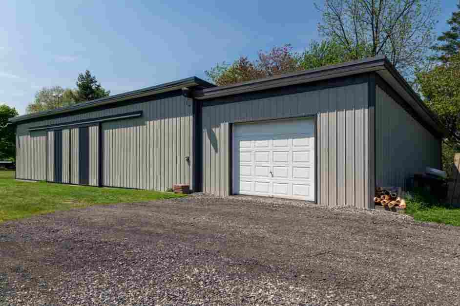 Detached Metal Garage