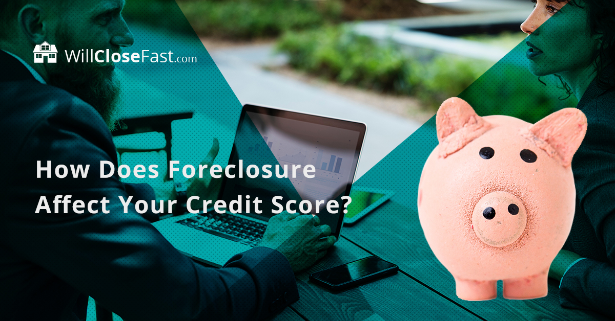 foreclosure credit score