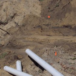 Image of beginning excavation